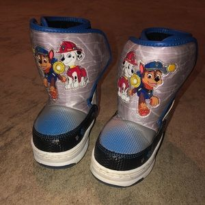 unknown Shoes - Toddler boys paw patrol snow boots